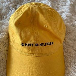 Tommy Hilfiger yellow baseball hat